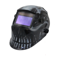 MX-E Auto Darkening Welding Helmet with skull
