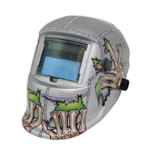 MX-8 Auto Darkening Welding Helmet with skull