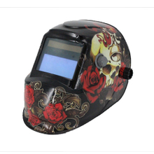 MX-L Auto Darkening Welding Helmet with skull